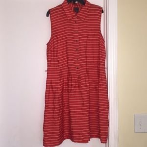 Covington Button up Collared dress